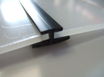 610mm Pvc Butt Joint For Greenhouse Glazing Greenhouse