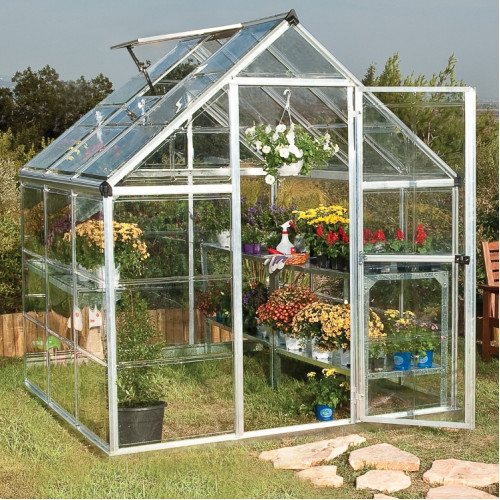 Palram Harmony Silver 6x6 Greenhouse