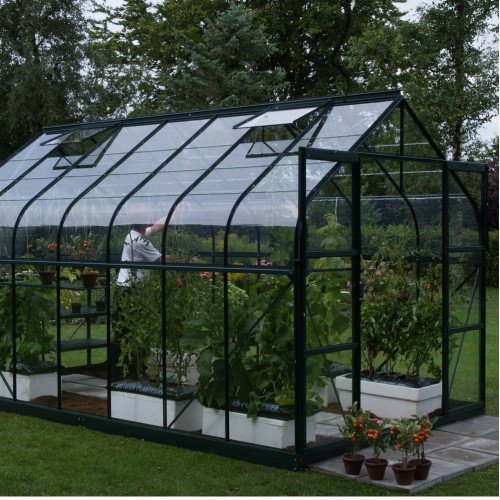 Saturn 8x10 Green Greenhouse Greenhouse Warehouse