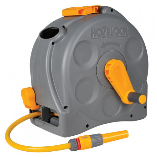 Hozelock 25m 2in1compact Hose Reel 2415 Greenhouse